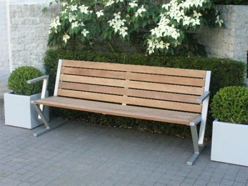 Duurzame tuinbanken van Staal, (Hard)hout en kunststof   Uw Parkmeubi